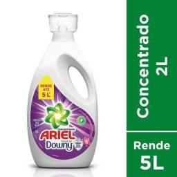 Sabão Líquido Ariel Concentrado 2L(Rende 5 Litros) com Toque Downy Lacrado!