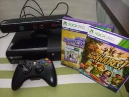 Console Xbox 360 completo usado.(bloquado)
