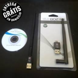 """Atacado/Varejo"" Antena Wi-Fi USB Repetidor De Sinal , Novo Na caixa , A Pronta Entrega."