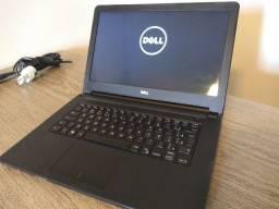 Notebook dell i3 8gb ddr3 hd de 1TB windows 10 aceito cartões