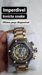 Título do anúncio: Relógio invicta snake