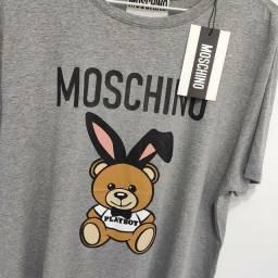 Camiseta Moschino importada premium