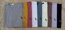Camisas básicas lisas