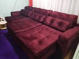 Sofá de alto padrão feito sob medida