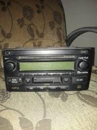 Rádio Original Toyota Hilux Toca Cd E Toca Fitas 2006-2010