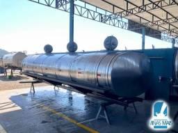 Tanque Rodoviários usado 14.000 LTS / 03 compartimentos Globoinox Totalmente Revisado
