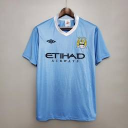 Camisa Retrô Manchester City 2011-12 Home