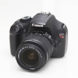 Canon T3 Super nova com lente 18-55 is