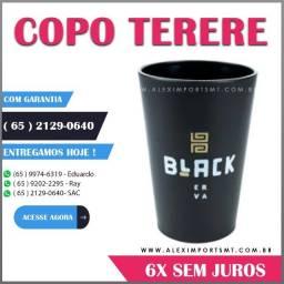 copo para terere e chimarrão black erva anti-queda
