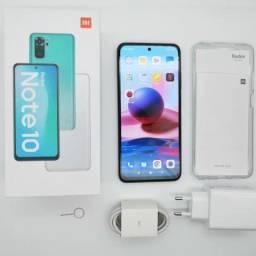 Redmi Note 10 (lançamento 2021). Smartphone lacrado.