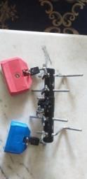 Título do anúncio: Conjunto kit Bloco-Agogô Sonoro + Mini Rack