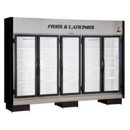 Expositor 5 portas frios e laticínios pronta entrega *Guilherme