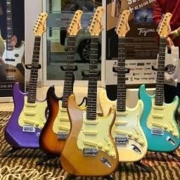 Guitarra Tagima Woodstock Strato Tg500 Cores Consulte Disponibilidade