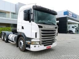 Scania G380 suspensão de mola
