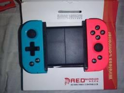 Título do anúncio: Gamepad Bluetooth Powkiddy X6 Pro, Tipo Nintendo, Seminovo