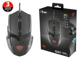 mouse gamer trust (111840-8) 21044 gxt-101 6 botoes optico 4800 dpi usb preto