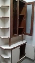 Armário Cristaleira em Mogno (Vendo ou Troco)