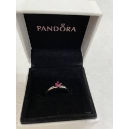 Anel Pandora You&Me original prata 925
