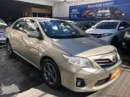 Título do anúncio: Toyota Corolla Automático + couro + gnv + multimídia - Novo demais!