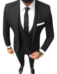 Blazer + Calça + Colete Masculino Ideal Ternos