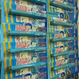 Caneta detectora de dinheiro falso