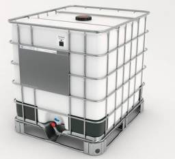 Vendo container 1000 litros usado - R$400.00