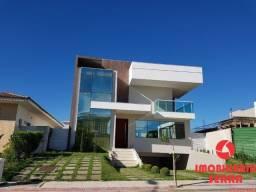 SGJ [L032] Casa com 4 suítes em condomínio fechado com lazer completo
