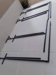 Título do anúncio: Suporte para painel estrutura de metalon 350x690 de R$560,00 por R$430,00