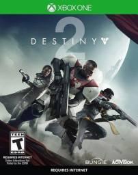 Destiny 2 xbox one mídia física novo lacrado importado e.u.a