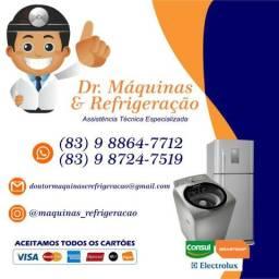 Dr. Máquinas & Refrigeração - Conserto de Geladeira e Máquina de Lavar