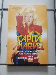 HQ Capitã Marvel capa dura