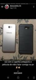 Samsung J5 prime.  Com carregador , capinha, película de vidro nova.