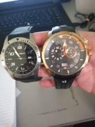 2 relógios originais séculos e technos troca em freezer expositor !