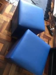 Pufe - azul