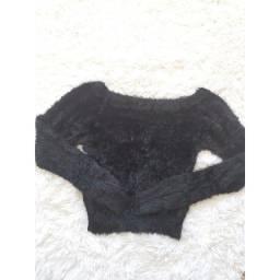 Blusa Cropped Pelinho