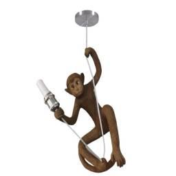 Luminaria Lustre Pendente Macaco