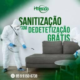 Dedetização + Sanitização