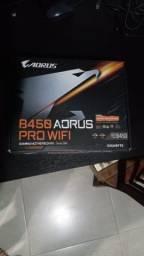 Placa-Mãe Aorus B450 Pro-Wifi