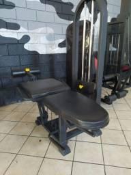 Cadeira extensora e mesa flexora