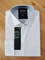 Camisa social Hugo Boss tamanhos P e G