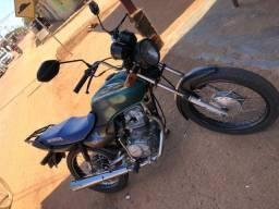 Título do anúncio: Vendo moto pra sítio