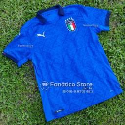 Camisa Itália 2021/22 - Lançamento - Fanático Store