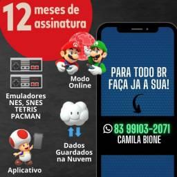 Vaga Nintendo Switch Online 12 Meses