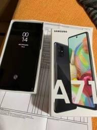 Samsung A71 128gb muito conservado com NF  Cometa Celular Anapolis