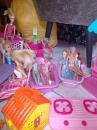 Super lote da Barbie.