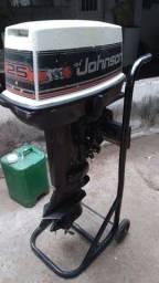 Título do anúncio: Motor de polpa Johnson 25hp
