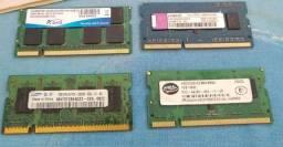 Memórias para Notebooks e PC / ddr 2 / ddr 1