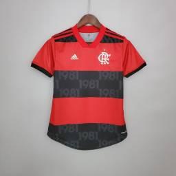 Camisa Feminina do Flamengo 2021/2022