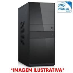 Pc Escritório Estudo,Intel Pentium G5420,Placa Mãe H310m,Memoria 4Gb Ddr4,Ssd Sata 120Gb