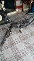 Bicicleta seminova R$500